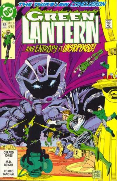 Green Lantern #35 comic books - cover scans photos Green Lantern #35 comic books - covers, picture gallery