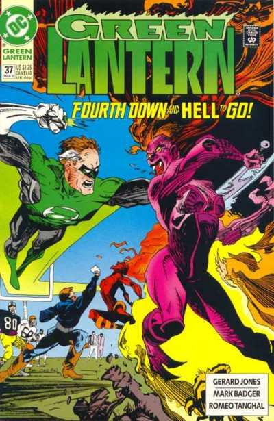 Green Lantern #37 comic books - cover scans photos Green Lantern #37 comic books - covers, picture gallery