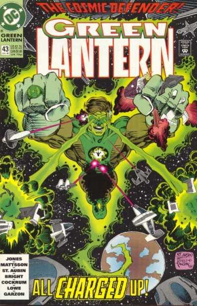 Green Lantern #43 comic books - cover scans photos Green Lantern #43 comic books - covers, picture gallery