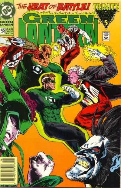 Green Lantern #45 comic books for sale