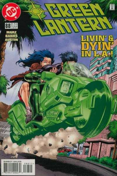 Green Lantern #88 comic books for sale