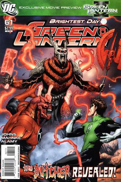 Green Lantern #61 comic books - cover scans photos Green Lantern #61 comic books - covers, picture gallery