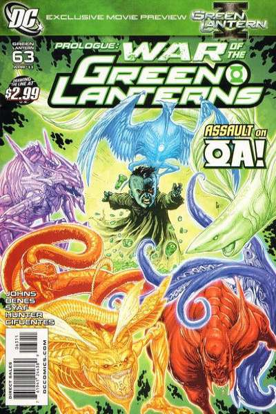 Green Lantern #63 comic books for sale
