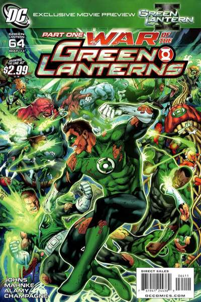 Green Lantern #64 comic books - cover scans photos Green Lantern #64 comic books - covers, picture gallery