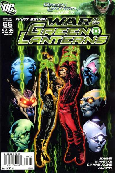Green Lantern #66 comic books - cover scans photos Green Lantern #66 comic books - covers, picture gallery