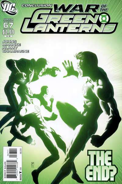 Green Lantern #67 comic books for sale