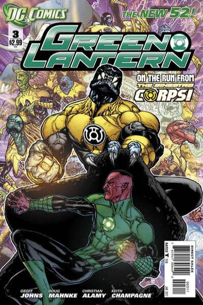 Green Lantern #3 Comic Books - Covers, Scans, Photos  in Green Lantern Comic Books - Covers, Scans, Gallery