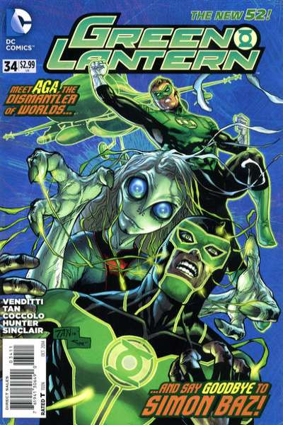 Green Lantern #34 Comic Books - Covers, Scans, Photos  in Green Lantern Comic Books - Covers, Scans, Gallery