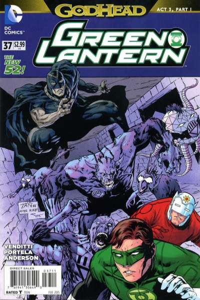 Green Lantern #37 comic books for sale