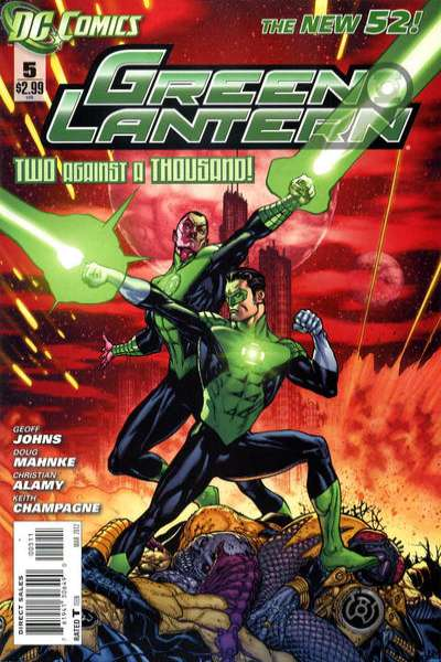 Green Lantern #5 Comic Books - Covers, Scans, Photos  in Green Lantern Comic Books - Covers, Scans, Gallery