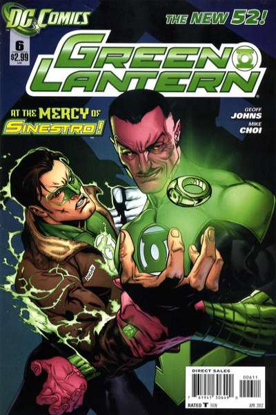 Green Lantern #6 Comic Books - Covers, Scans, Photos  in Green Lantern Comic Books - Covers, Scans, Gallery