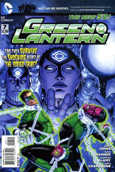 Green Lantern #7 comic books - cover scans photos Green Lantern #7 comic books - covers, picture gallery