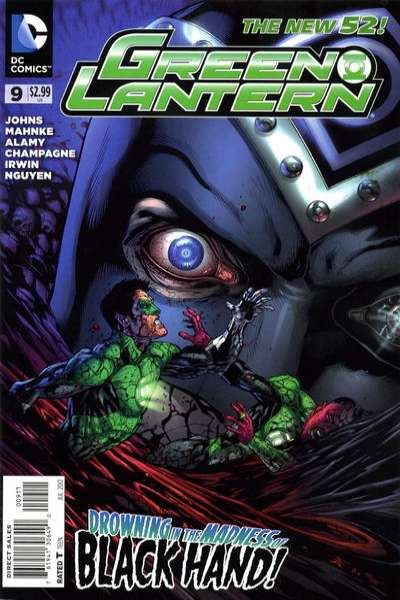 Green Lantern #9 comic books - cover scans photos Green Lantern #9 comic books - covers, picture gallery