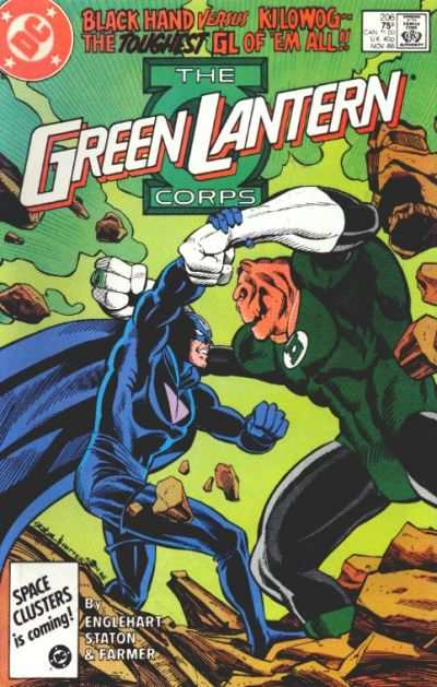 Green Lantern Corps #206 comic books - cover scans photos Green Lantern Corps #206 comic books - covers, picture gallery