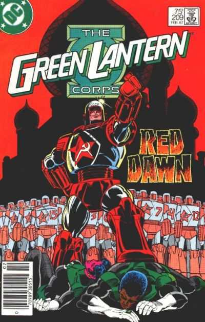 Green Lantern Corps #209 Comic Books - Covers, Scans, Photos  in Green Lantern Corps Comic Books - Covers, Scans, Gallery