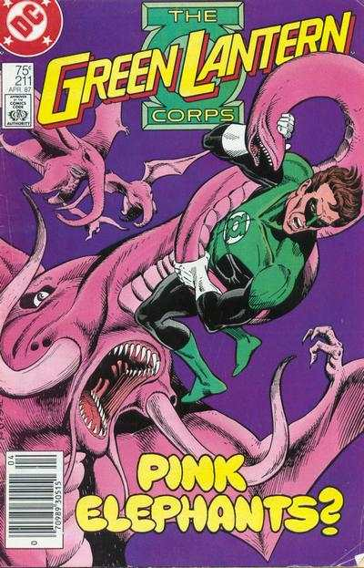 Green Lantern Corps #211 comic books for sale