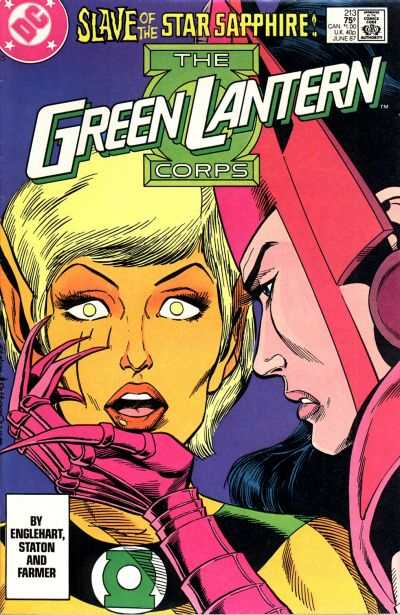 Green Lantern Corps #213 Comic Books - Covers, Scans, Photos  in Green Lantern Corps Comic Books - Covers, Scans, Gallery