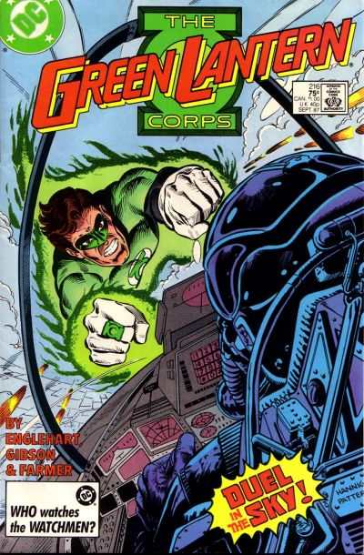 Green Lantern Corps #216 Comic Books - Covers, Scans, Photos  in Green Lantern Corps Comic Books - Covers, Scans, Gallery