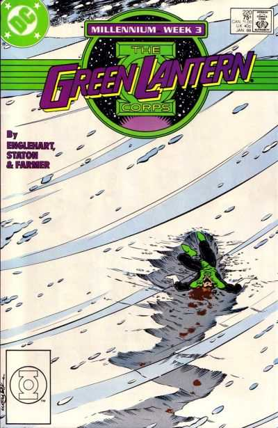 Green Lantern Corps #220 comic books for sale