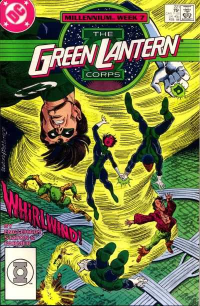 Green Lantern Corps #221 comic books for sale