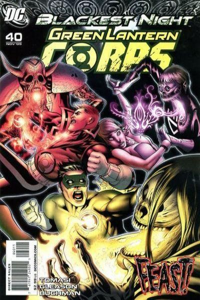 Green Lantern Corps #40 comic books - cover scans photos Green Lantern Corps #40 comic books - covers, picture gallery