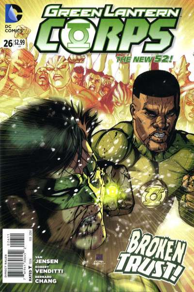 Green Lantern Corps #26 comic books for sale