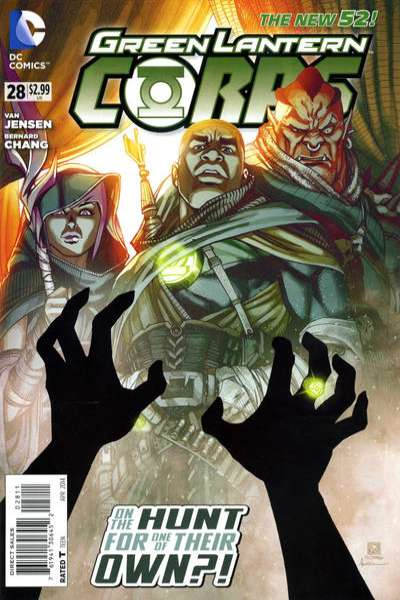 Green Lantern Corps #28 comic books for sale