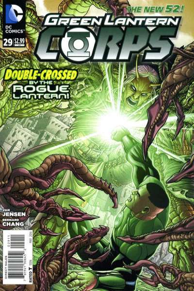 Green Lantern Corps #29 comic books - cover scans photos Green Lantern Corps #29 comic books - covers, picture gallery