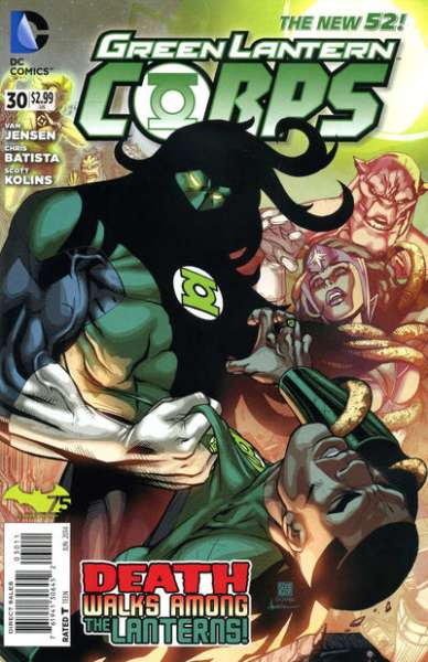 Green Lantern Corps #30 Comic Books - Covers, Scans, Photos  in Green Lantern Corps Comic Books - Covers, Scans, Gallery