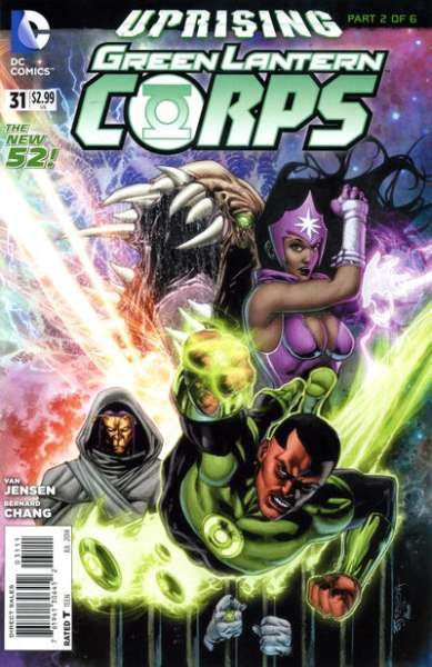 Green Lantern Corps #31 comic books - cover scans photos Green Lantern Corps #31 comic books - covers, picture gallery