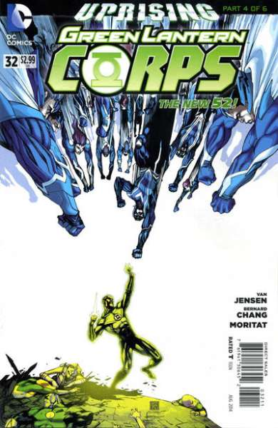 Green Lantern Corps #32 comic books - cover scans photos Green Lantern Corps #32 comic books - covers, picture gallery