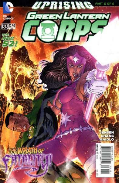 Green Lantern Corps #33 comic books for sale