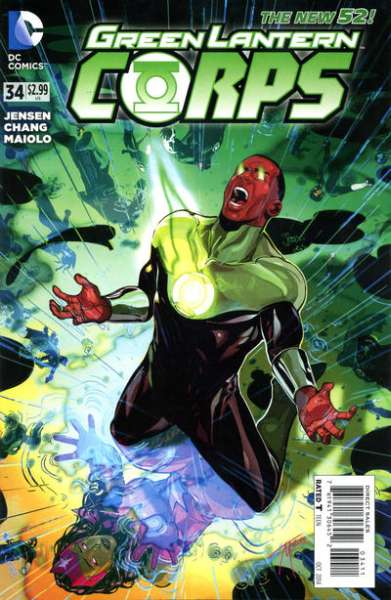 Green Lantern Corps #34 comic books for sale