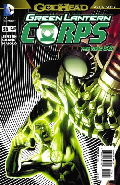 Green Lantern Corps #36 comic books for sale