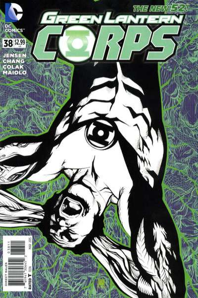 Green Lantern Corps #38 comic books for sale