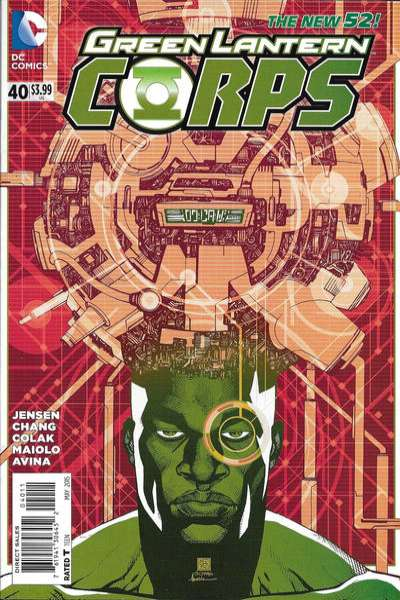 Green Lantern Corps #40 comic books for sale