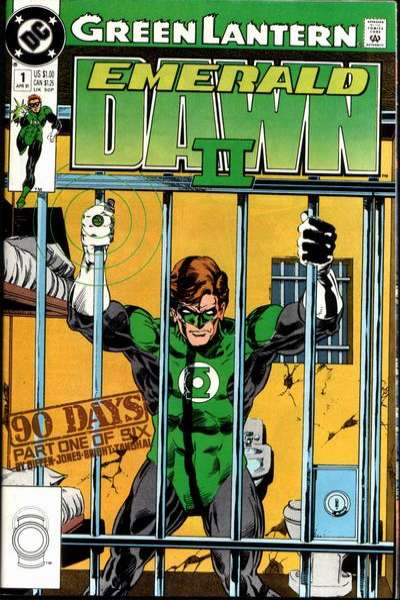 Green Lantern: Emerald Dawn II #1 comic books for sale