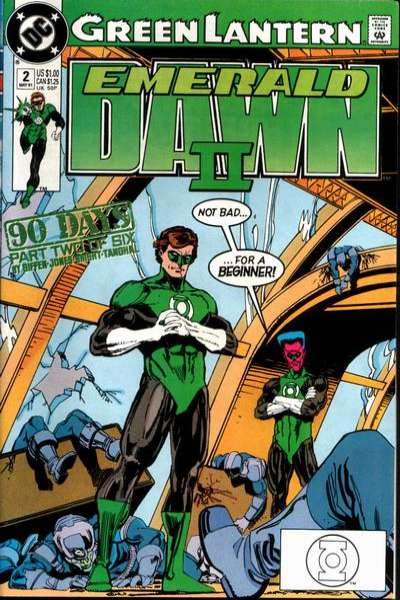 Green Lantern: Emerald Dawn II #2 comic books for sale