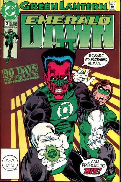 Green Lantern: Emerald Dawn II #3 comic books for sale