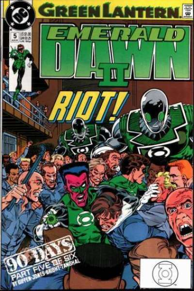 Green Lantern: Emerald Dawn II #5 Comic Books - Covers, Scans, Photos  in Green Lantern: Emerald Dawn II Comic Books - Covers, Scans, Gallery