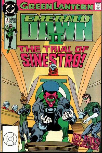 Green Lantern: Emerald Dawn II #6 comic books for sale