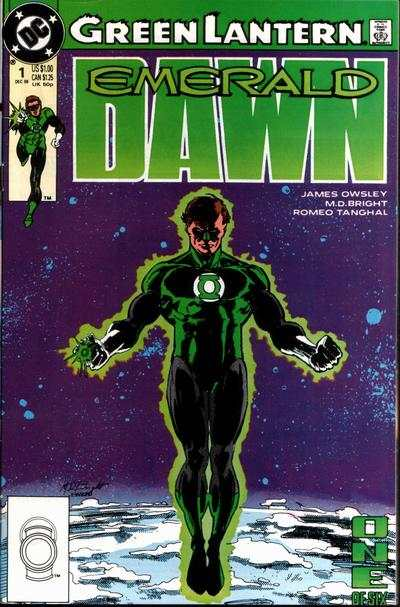 Green Lantern: Emerald Dawn comic books