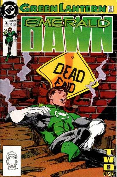 Green Lantern: Emerald Dawn #2 comic books for sale