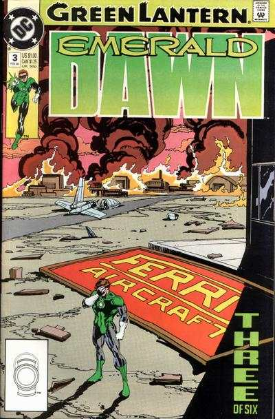 Green Lantern: Emerald Dawn #3 comic books - cover scans photos Green Lantern: Emerald Dawn #3 comic books - covers, picture gallery