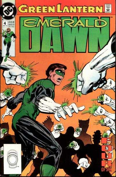 Green Lantern: Emerald Dawn #4 comic books - cover scans photos Green Lantern: Emerald Dawn #4 comic books - covers, picture gallery