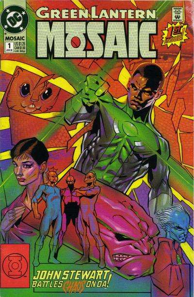 Green Lantern: Mosaic comic books