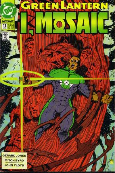 Green Lantern: Mosaic #11 comic books for sale