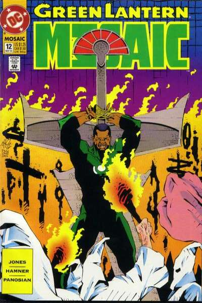 Green Lantern: Mosaic #12 comic books for sale