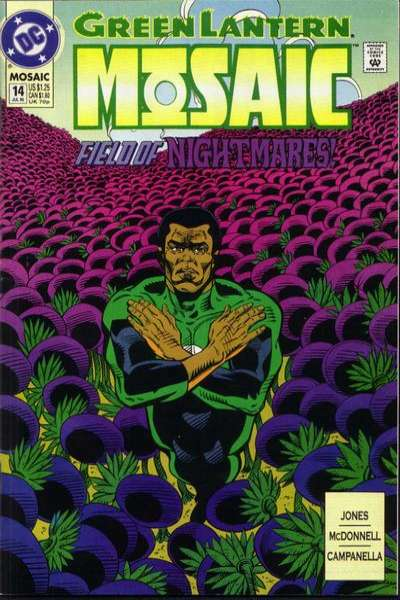 Green Lantern: Mosaic #14 comic books for sale