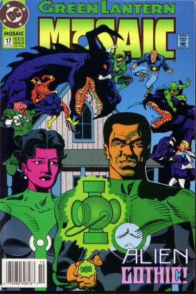 Green Lantern: Mosaic #17 comic books for sale